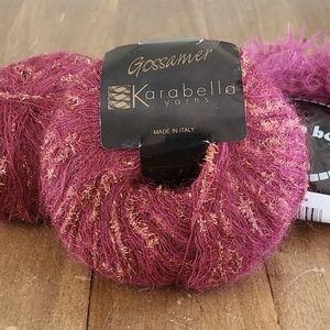 Karabella & Moa Boa Luxury yarn lot